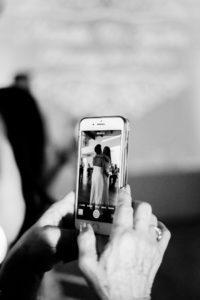 share wedding  video trough social media